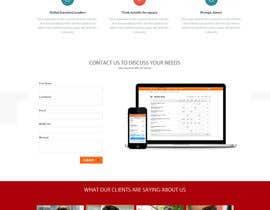 Nro 15 kilpailuun Design a Website Mockup käyttäjältä Ganeshdas