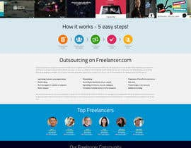 #30 para Design a new default page for Freelancer por snali