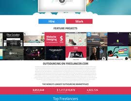 #45 para Design a new default page for Freelancer por snali