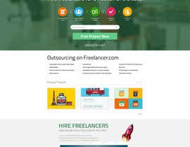 #55 para Design a new default page for Freelancer por snali