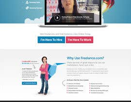 #14 para Design a new default page for Freelancer por DesignerMattR