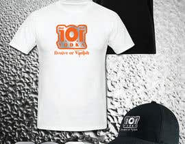 nº 10 pour Design a T-Shirt for 1.0.1 Vodka par IIDoberManII