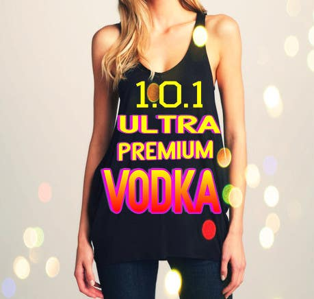 #22 for Design a T-Shirt for 1.0.1 Vodka by mcavillena