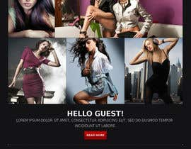 dimabezuh tarafından Build a simple Website for Modeling Agency - repost için no 3