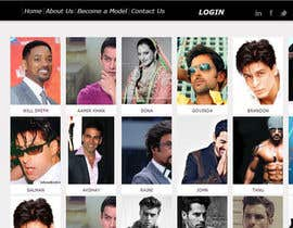 saurabhsehgal91 tarafından Build a simple Website for Modeling Agency - repost için no 4