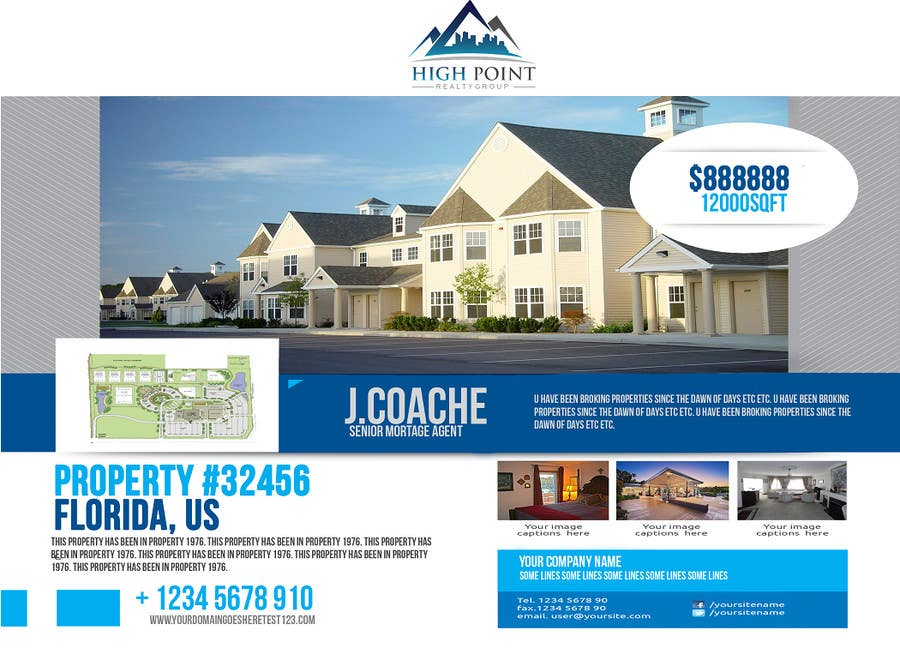 #1 for Design a Flyer for Real Estate by sammi67