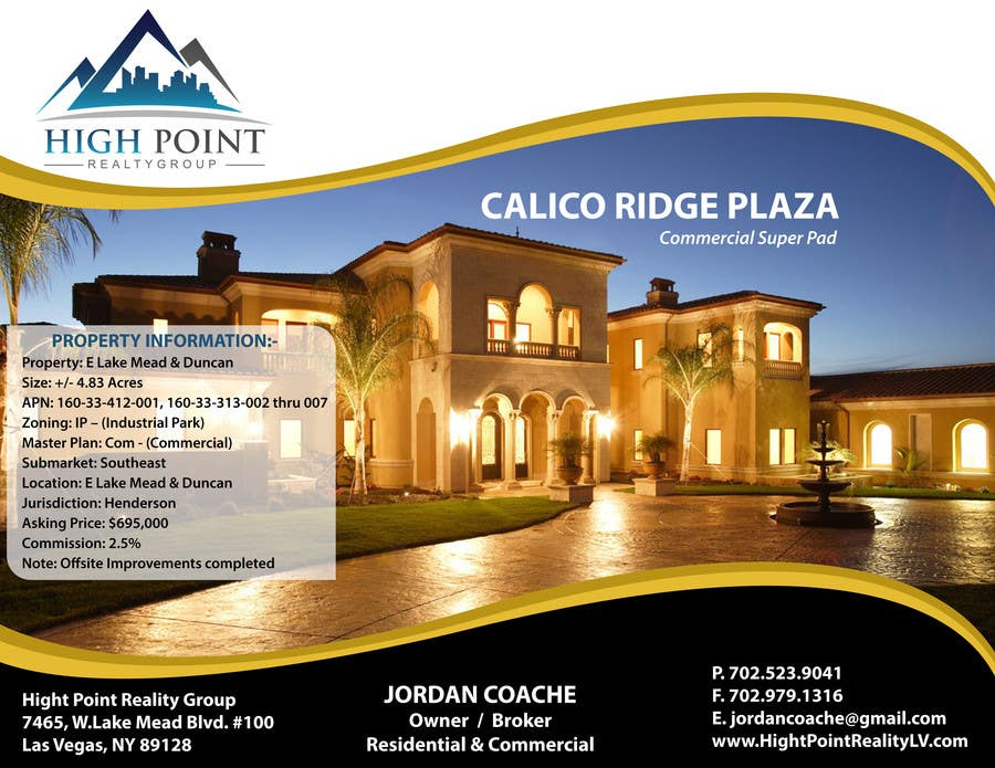 #20 for Design a Flyer for Real Estate by pointlesspixels