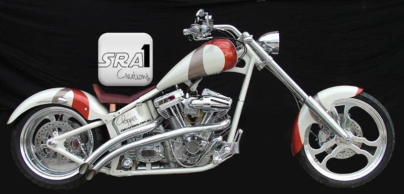 Kilpailutyö #5 kilpailussa Design a Banner for website (motorcycle custom chopper site)