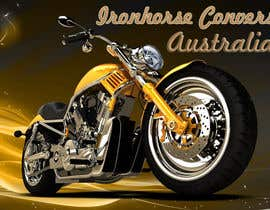 nº 14 pour Design a Banner for website (motorcycle custom chopper site) par wazari123