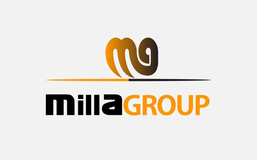 Penyertaan Peraduan #120 untuk Design a Logo for  MILLAGROUP