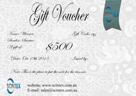 Contest Entry #3 for Design a Gift Voucher