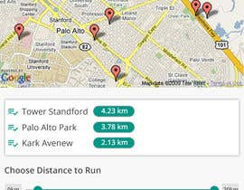 shakilaiub10 tarafından Design an App Mockup, for a running app, HK landmark run için no 2