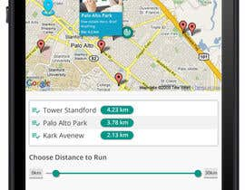 shakilaiub10 tarafından Design an App Mockup, for a running app, HK landmark run için no 4