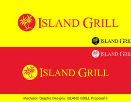 #147 for Design a Logo for ISLAND GRILL af Mechaion
