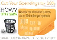 Graphic Design Entri Peraduan #19 for Ad to attract customer to get Paper Saving Consulting Services