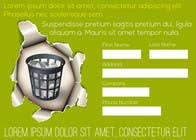 Graphic Design Entri Peraduan #20 for Ad to attract customer to get Paper Saving Consulting Services