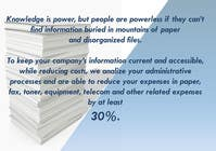 Contest Entry #3 for Ad to attract customer to get Paper Saving Consulting Services