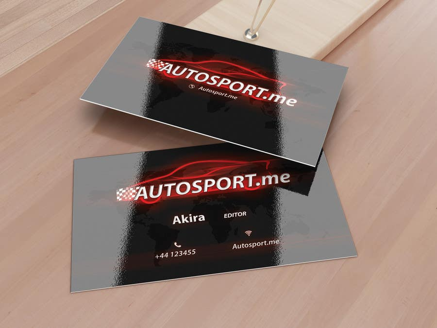 Proposition n°14 du concours Design some Business Cards for small website