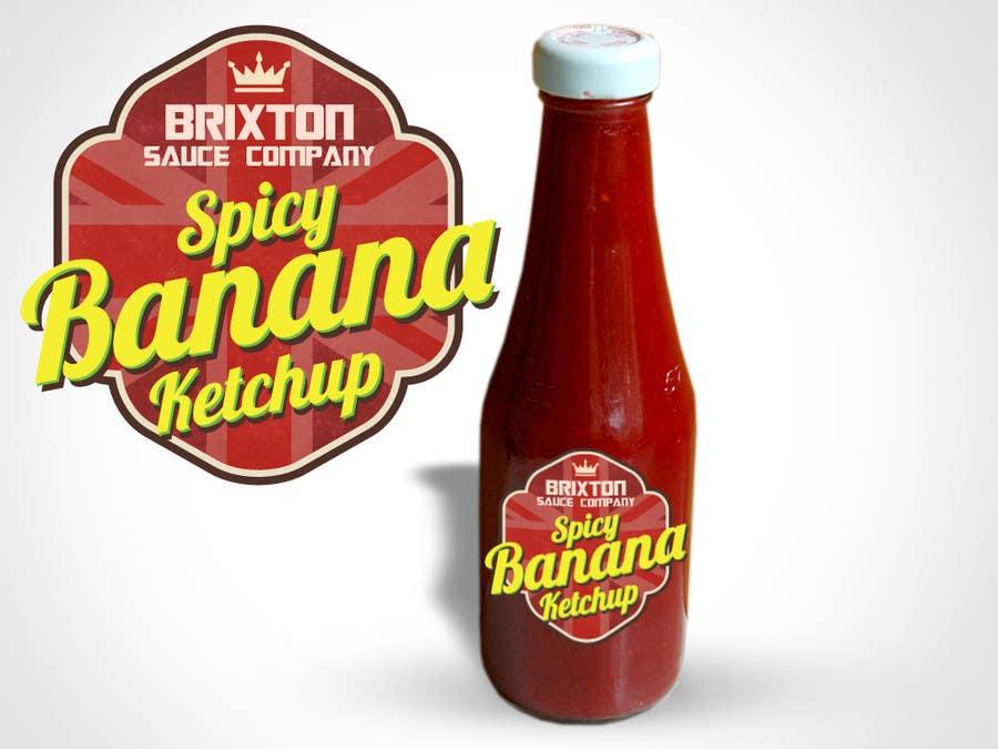Bài tham dự cuộc thi #73 cho Design a Logo for a new Sauce / Condiment bottle