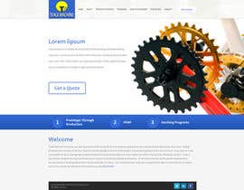nº 6 pour Design a Website Mockup (main page / one subpage) par tania06