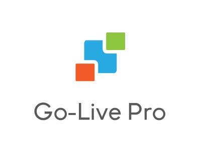 Kilpailutyö #244 kilpailussa Design a Logo for Go-Live Pro
