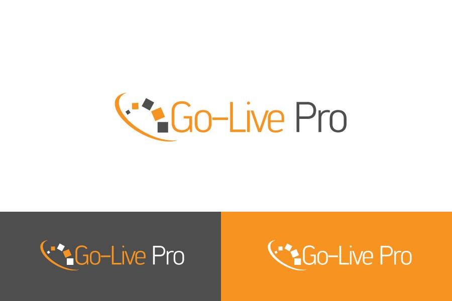 Kilpailutyö #69 kilpailussa Design a Logo for Go-Live Pro