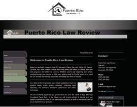nº 18 pour Design a Logo for Puerto Rico Law Review, LLC par woow7