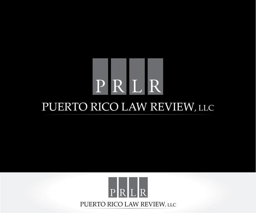 Penyertaan Peraduan #11 untuk Design a Logo for Puerto Rico Law Review, LLC
