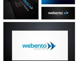 nº 157 pour Logo Design for Webento par maidenbrands