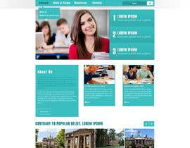 nº 8 pour Create a website for a student orientation company / 51europe.org par webcloud9