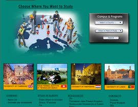 #15 para Create a website for a student orientation company / 51europe.org por aaronn99