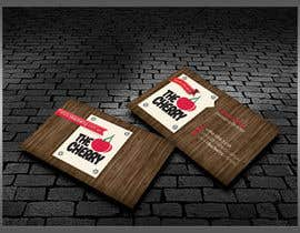 #49 untuk Design some Business Cards for The Cherry oleh kreativedhir