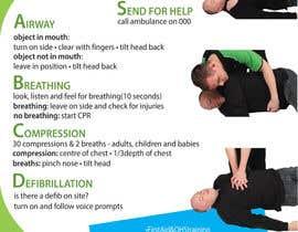 Nro 11 kilpailuun Design a new CPR Poster käyttäjältä petrabester01