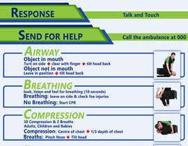 Nro 9 kilpailuun Design a new CPR Poster käyttäjältä msaadlakhan