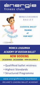 nº 8 pour Design flyer for ballet school par KremMtv