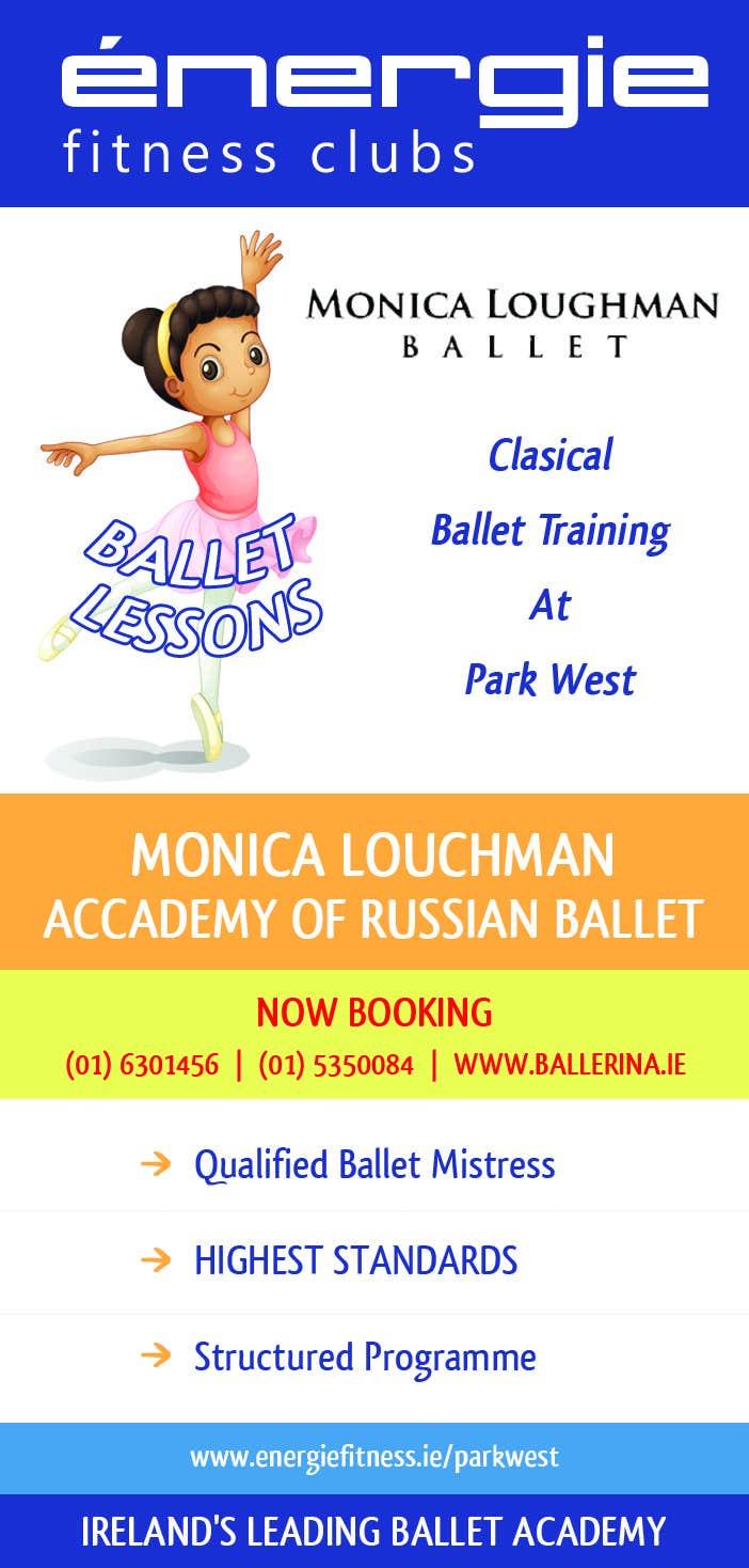 #4 for Design flyer for ballet school by danildilawar