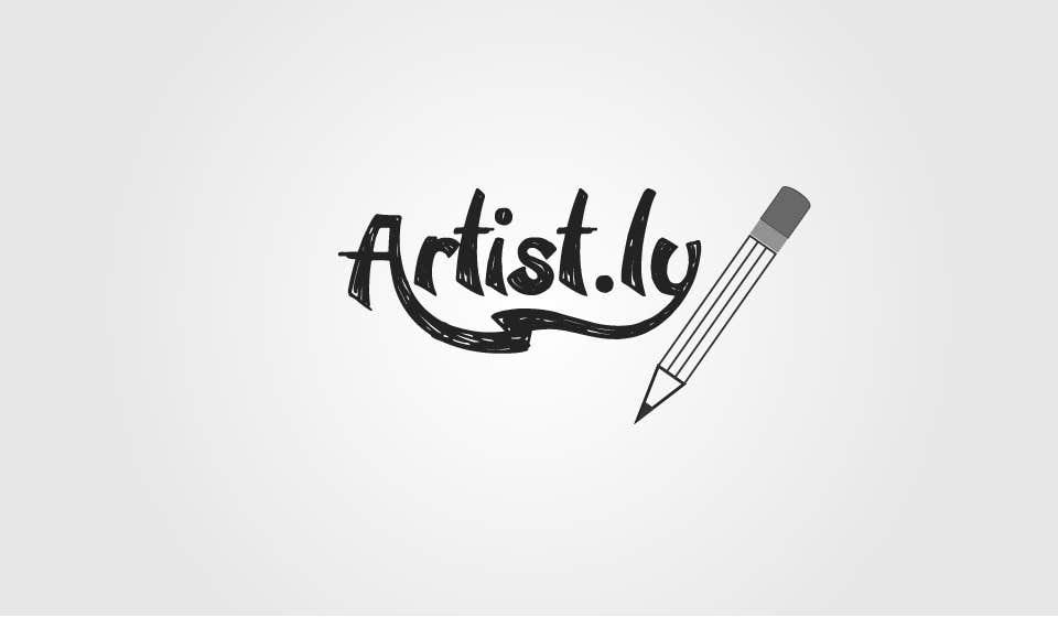 Penyertaan Peraduan #50 untuk Logo for Artist.ly