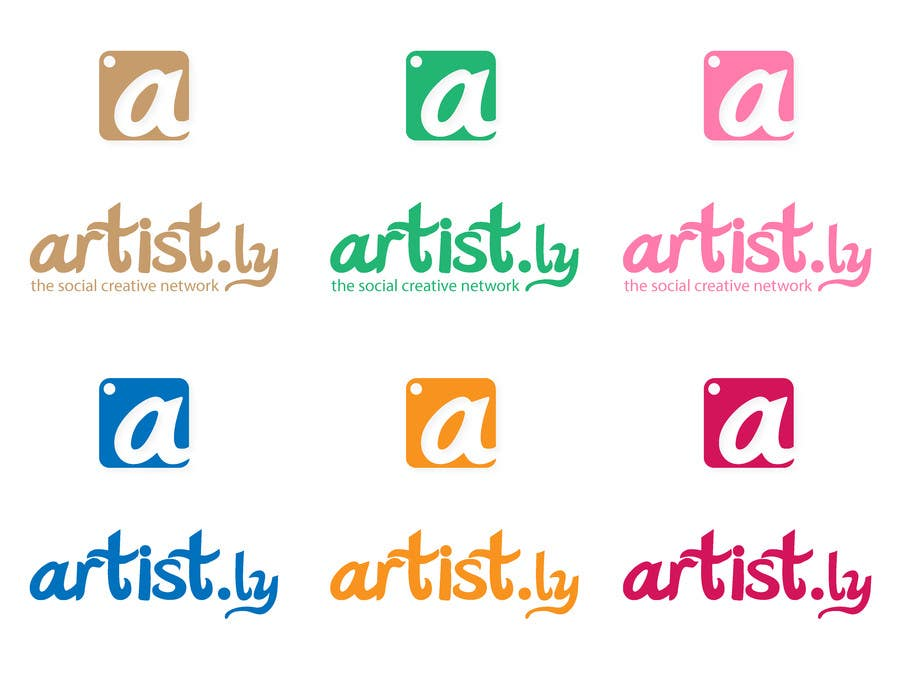 #180 for Logo for Artist.ly by eyecandyfactory