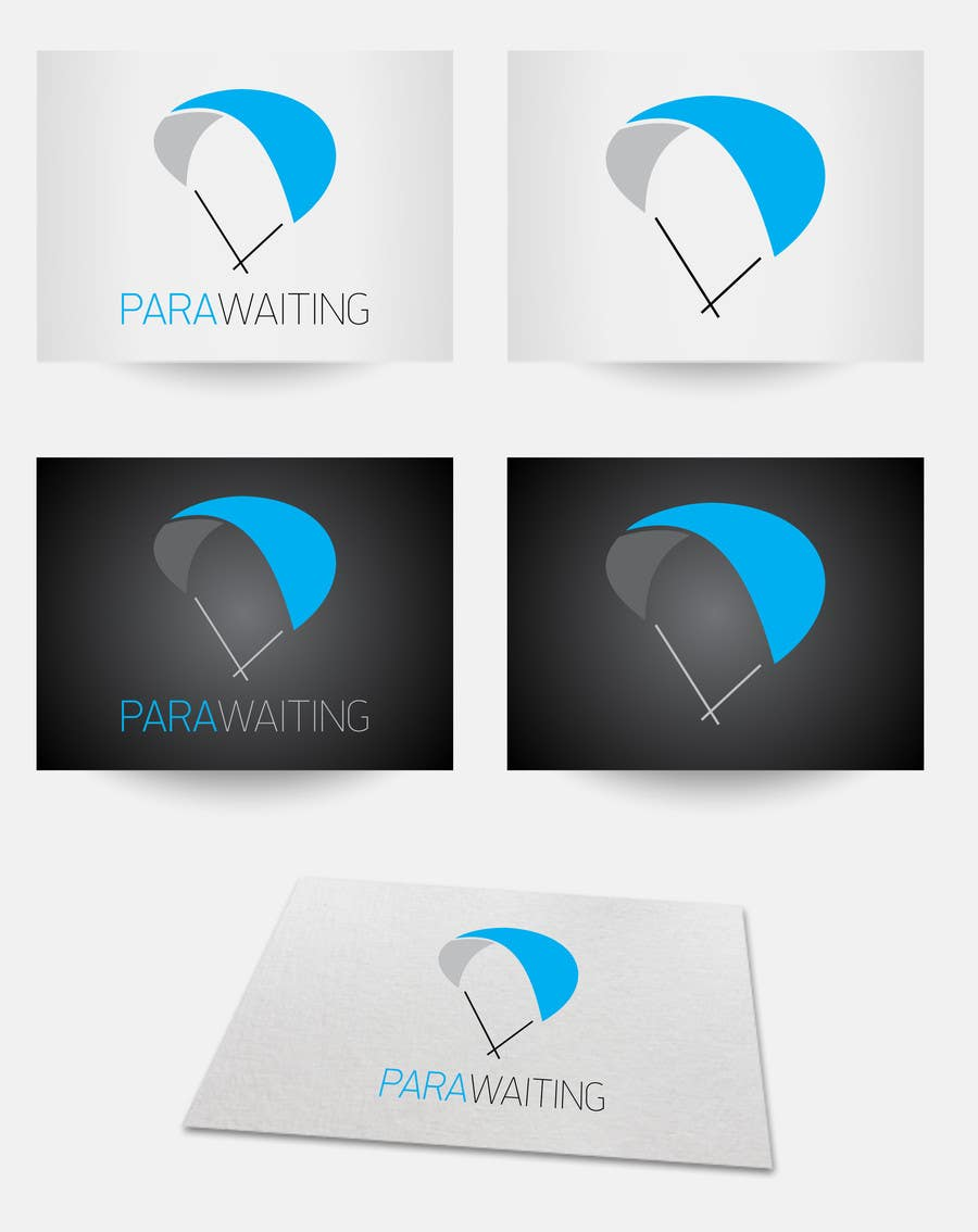 #11 for Develop a Corporate Identity for Parawaiting by takacsbalazs