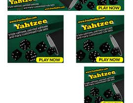 marijadj06 tarafından Design a banner and other ad images for yahtzee website için no 26