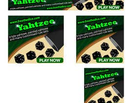 marijadj06 tarafından Design a banner and other ad images for yahtzee website için no 27