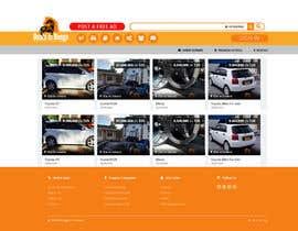 Nro 6 kilpailuun Draw a quick JPEG/TIFF Mockup of a website käyttäjältä syamjiths7