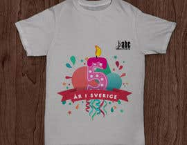 mkh55ec44a92789b tarafından Design a T-shirt for our 5 year old company için no 22