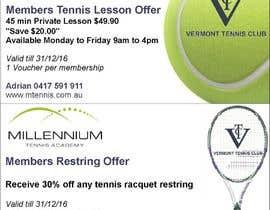 Nro 12 kilpailuun Tennis Club Offers käyttäjältä katrinpr