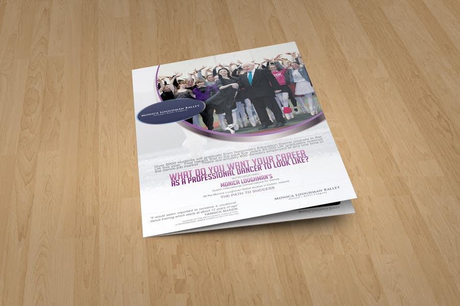 Proposition n°9 du concours Design a Flyer for a prestigious dance academy