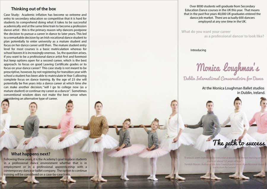 Inscrição nº 23 do Concurso para Design a Flyer for a prestigious dance academy