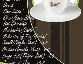nº 8 pour 12 Page a3 Poster Menu For Cafe & Convenience Store par rogeliobello