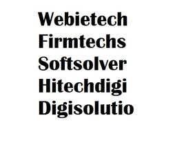 Nro 301 kilpailuun Propose software company name käyttäjältä GeorgeMKT