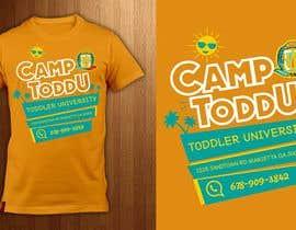 Nro 19 kilpailuun ToddU Summer Camp T Shirt Design käyttäjältä ShadaoPartners