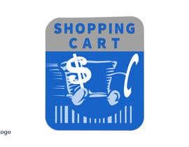 Nro 45 kilpailuun logo for a shopping cart käyttäjältä KhaledZakaria